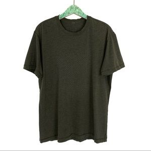 Lululemon Men's Tee Shirt XL Army Green